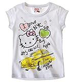 Hello Kitty doble Pack camiseta de color blanco Blanco blanco