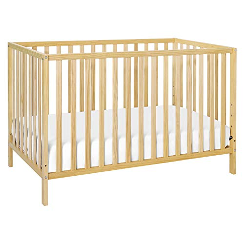 Union 2-in-1 Convertible Crib in Natural, Greenguard Gold Certified