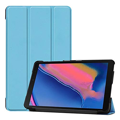RZL PAD & TAB cases For Samsung Galaxy Tab A 8.0 SM P200 P205, Protective Shell Cover Tablet Case For Galaxy TAB A8 2019 P200 (Color : Blue)