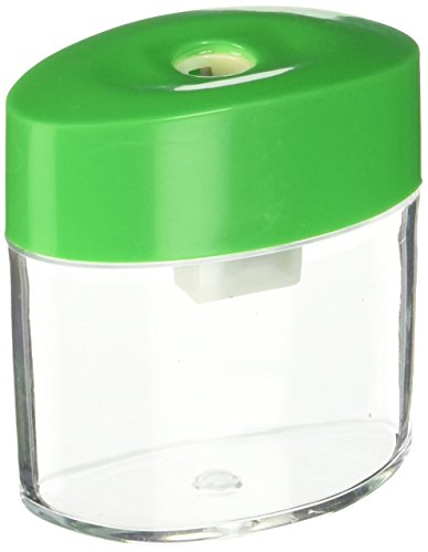 Integra Plastic Sharpener, Oval, 2-1/8-Inch, Assorted (ITA42850)