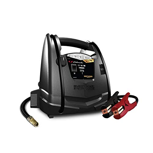 Schumacher SJ1331 Portable Jump Starter with 150 PSI Air Compressor and 12V DC/USB Power