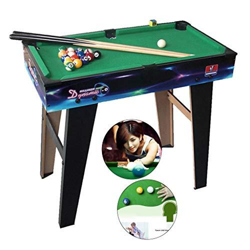 Mesa de billar Mini mesas de Billar Mesa For Niños Grandes Y Medianas Negro 8 Fresco Juegos De Interior Alta Niños Y Niñas De Regalo De Cumpleañ
