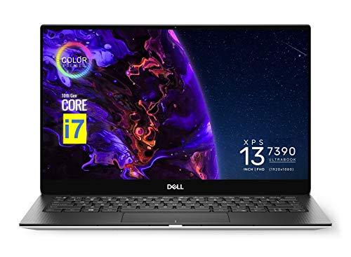 2021 Dell XPS 13 7390 13.3' FHD (1920 x 1080) InfinityEdge Laptop (10th Gen Intel 6-Core i7-10710U, 16GB RAM, 512GB SSD) Thunderbolt 3, Webcam, Backlit, Fingerprint, Wi-Fi 6, Windows 10 Pro