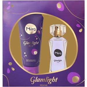 Miro Glamlight Set (Eau de Parfum,50ml+Duschgel,100ml)
