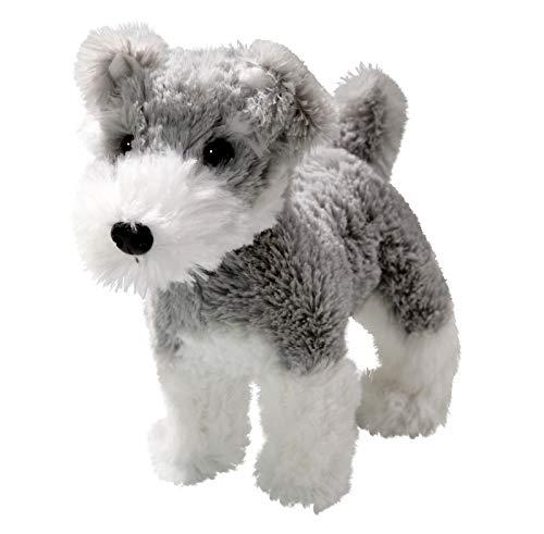 Carl Dick Schnauzer Terrier de pie Aproximadamente 17cm de Largo, Unos 16cm de Alto, Peluche 3409005