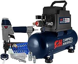 Campbell Hausfeld 3 Gallon Portable Air Compressor with Nailer & Connection Kit (DC030097E)
