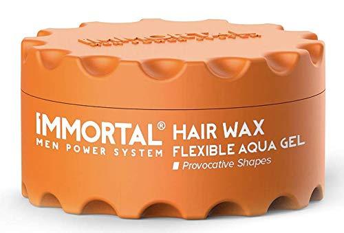 Immortal Hair Wax flexible Aqua Gel 150 ml (Orange)
