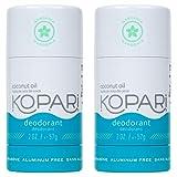 Kopari Aluminum-Free Deodorant Gardenia | Non-Toxic, Paraben Free, Gluten Free & Cruelty Free Men's and Women's Deodorant | Made with Organic Coconut Oil | 2.0 oz, 2 Pack