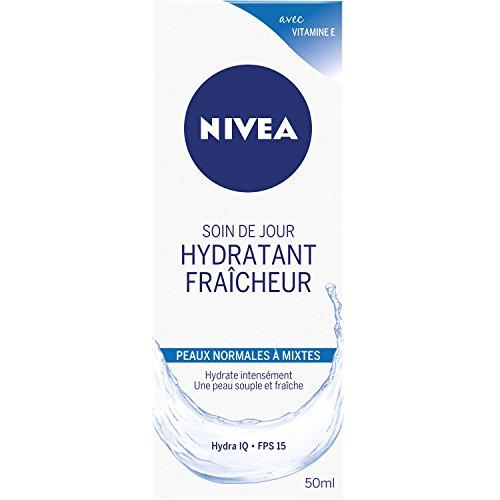 Nivea Soin de jour Hydratant Fraicheur Peaux Normales à Mixtes 50 ml