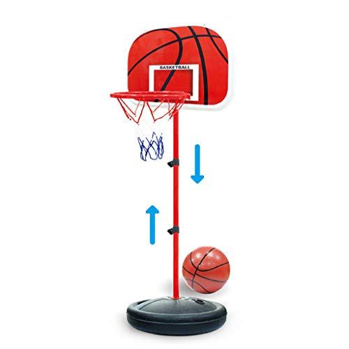 Haijun - Soporte de baloncesto ajustable para niños, para interiores y exteriores, juguetes divertidos
