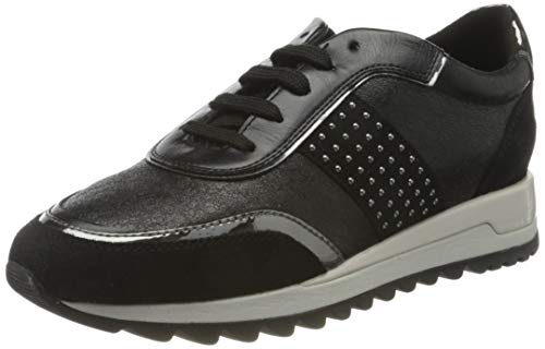 GEOX D TABELYA A BLACK Women's Trainers Low-Top Trainers size 38(EU)