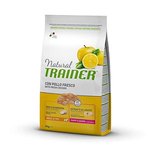 Trainer Natural Cibo per Cani Small & Toy Puppy & Junior Pollo Fresco 7kg