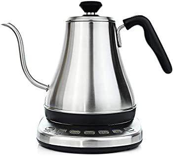 Gooseneck 1L Electric Tea & Pour Over Coffee Kettle