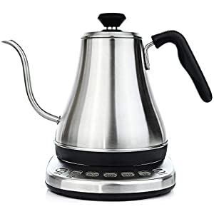 Willow & Everett Electric Gooseneck Kettle with Temperature Presets