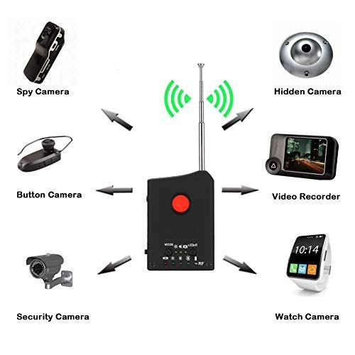 Jacksking Kamera-Detektor Drahtloser Fehlerdetektor LDRF-DT1 Drahtlose Signaldetektoren für drahtlose Kabelkamera/JT-Gerät/Ortung/GPS