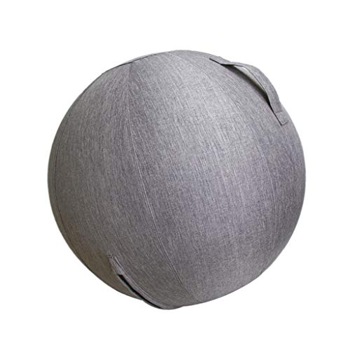 perfeclan Bezüge für Gymnastikball Yoga Pilates Gym Ball Cover Abdeckung 60cm / 65cm - 60cm