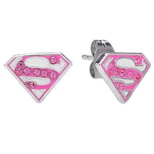 DC Comics Superman Jewelry for Women Sterling...