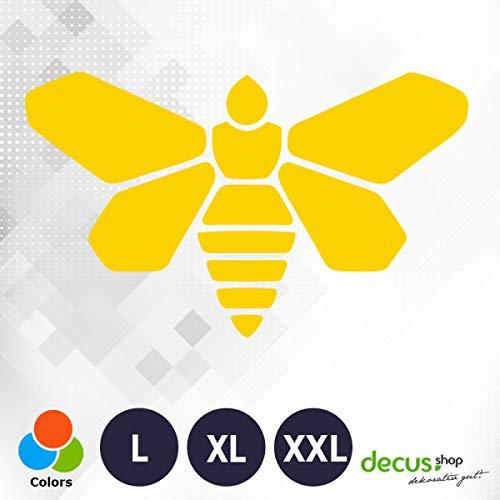 Decus Breaking Bad Biene L 1609 (gelb) // Sticker OEM JDM Style Aufkleber