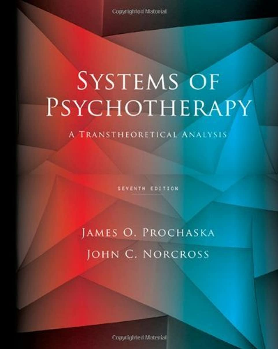 By James O Prochaska - Systems of Psychotherapy: A Transtheoretical Analysis (7th) (3.6.2009)
