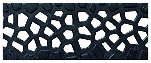 ACO Self® Flächenrost Voronoi Gussrost 50cm Rinnenrost Rost Entwässerung Rinne Abdeckrost