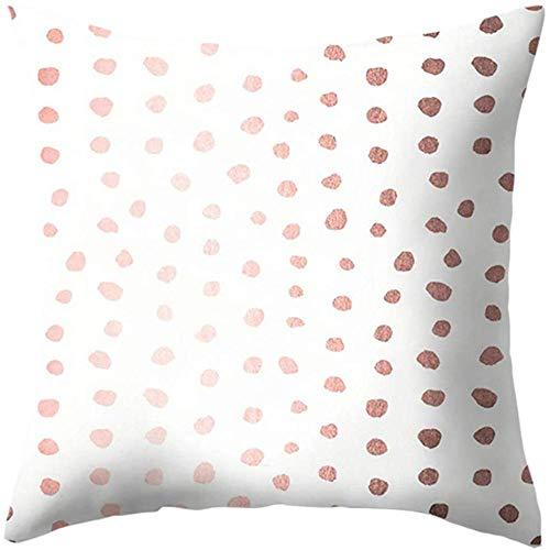 Vintage Pink Seamless Pattern Dekokissen Abdeckungen Leinen Kissenbezug Platz Kissenbezüge Schlafsofa Couch Pillowcase-6
