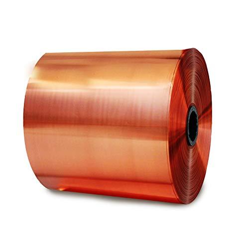 SQINAA Kupferblatt (0,05mm X1000mm) verwendet, für Gitarre und elektromagnetische, Kugelsicher, Handwerk, Elektro Reparatur-Conductive Band Dickeres Papier,20mm