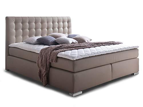 ISABELL Boxspringbett Hotelbett Bett amerikanisches Bett 7-Zonen Taschenfederkernmatratze