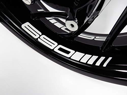 Bike Label 790075A Felgenbett-Aufkleber 4er Set passend für KTM 690 Duke