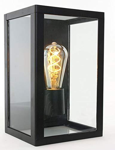 Buitenlamp wandlamp Steinhauer Outdoor 1508ZW zwart modern E27
