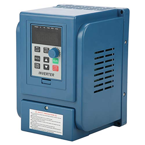 Inverter Motor Drive, Variable Frequency Drive Low Noise 380VAC for 3 Phase 0.75kW AC Motor