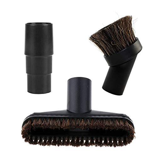 YAJIWU Piezas de repuesto surtidas para aspiradora, cepillo de cabeza de caballo, piezas de repuesto con adaptador de 32/35 mm