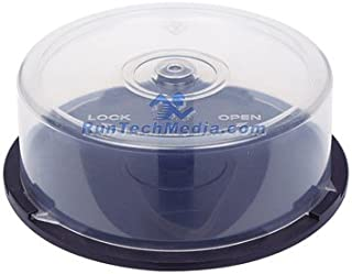 24 PC OF EMPTY CD DVD Blu-ray Disc CAKE BOX Spindle - 25 Disc Capacity