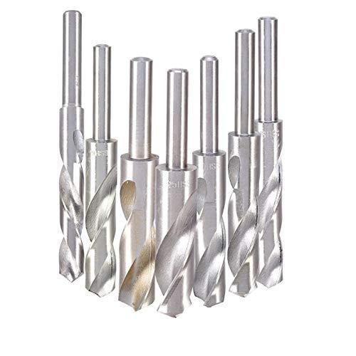 MMI-LX 14/16/18/19/20/22mm 1/2' Straight Shank Hss Bit Blacksmiths Drill Bit Hand Tools Small and exquisite (Size : 20mm)