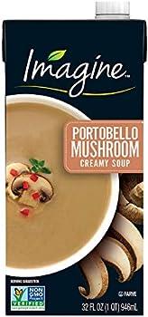 Imagine Portobello Mushroom Creamy Soup, 32 oz.