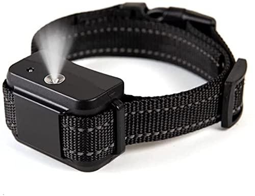 Collar antiladridos mejorado (recargable por USB), no harm anti barrera, con spray para perros grandes, medianos y pequeños