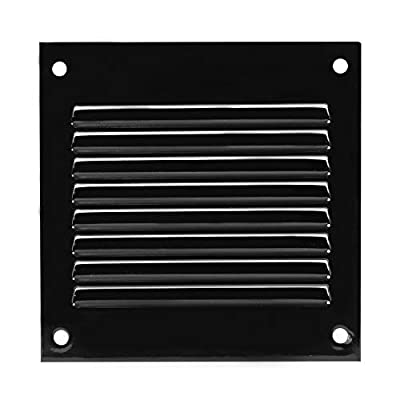 Air Vent Cover Steel Return Air Grilles - for Ceiling and Sidewall - HVAC - with Insect Protection Screen