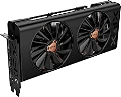 GPU: AMD RX 5500 XT Memory: 8 GB GDDR6 Boost clock: Up to 1845MHz Equipped with the XFX Thicc II pro cooling technology for optimal cooling and performance.