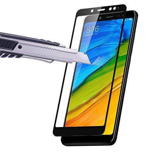 AGSXHM 3Pcs/Set Protezione dello Schermo Vetro Temperato A Copertura Totale per Xiaomi Redmi 4 PRO Note5 PRO 5 Plus 5A 4A 4X Proteggi Schermo Vetro Protettivo per Redmi 5A 4A 4X 5 per Redmi 4Pro NER
