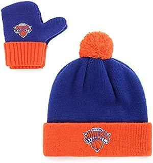 OTS NBA Toddler Pow Pow Knit Cap & Mittens Set