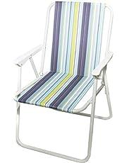 كرسي رحلات قابل للطي للتخييم، فاتح اللون-104