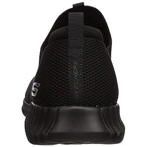 Skechers Sport Men's Elite Flex Wasik Loafer,black,9.5 M US