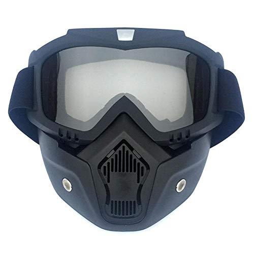 Sanshi Esquí Gafas De Motos De Nieve Gafas Máscara De Esquí Snowboard Gafas De Sol A Prueba De Viento del Motocrós Ciclo Al Aire Libre Eyewear Zzzb (Color : Gray Lens)