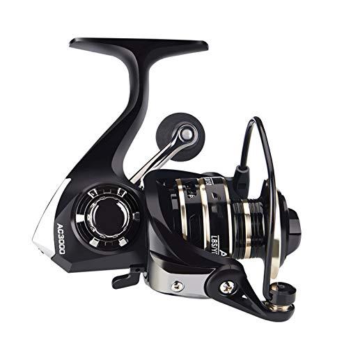 Reel Spinning Pesca Reel 8kg Manera de metal Manera Long Range Lanzamiento Carrete de pesca de mar Rueda de fundición AC2000-7000 Serie Accesorio de Carrete CUIDE ( Spool Capacity : 5000 Series )