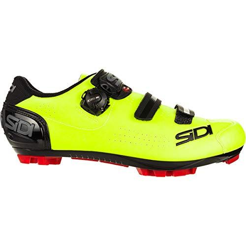 Sidi, Zapatillas de gimnasio Unisex adulto, Negro Amarillo, 42 EU