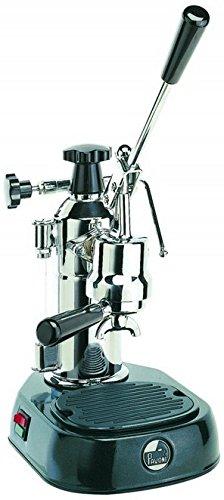 La Pavoni EN - Cafetera de espresso manual, color negro y gris