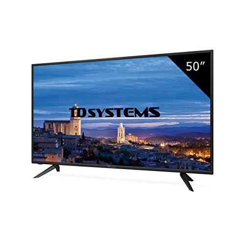 TD Systems K50DLH8F - Televisor Led 50 Pulgadas Full HD, resolución 1920 x 1080, 3X HDMI, VGA, 2X USB Reproductor y Grabador
