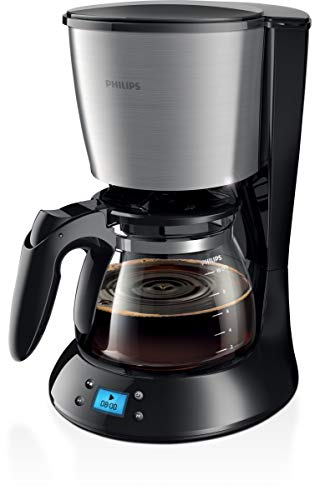 Philips - hd7459/23 - CafetiŠre progammable 15 tasses 1000w inox daily