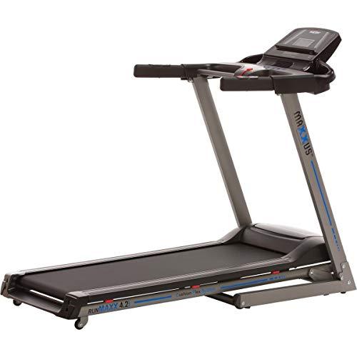 Laufband MAXXUS RunMaxx 4.2i Klappbar - Kompakte Treadmill Mit Klappbarer Lauffläche Und Dämpfungssystem - 16km/h, 12{3ef94f3899b9d5101f09190548412a1c6047fc7328aa540086c9854198d668f7} Steigung - Starker 1,75 PS DC-Motor – Große Lauffläche Für Sicheres Training