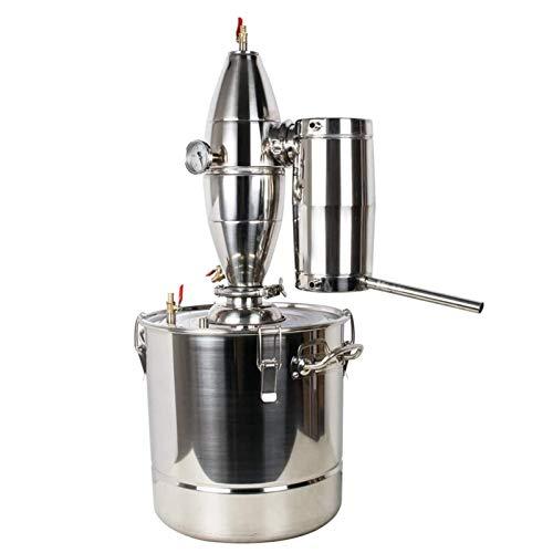 13 Gal 50L Kupfer Mondenschein Ethanol Alkohol Wasser-Destillierapparat Edelstahl Kupfer DIY Brewing Kit Mit Umwälzpumpe Für DIY Wein Whisky Brandy Spirituosen