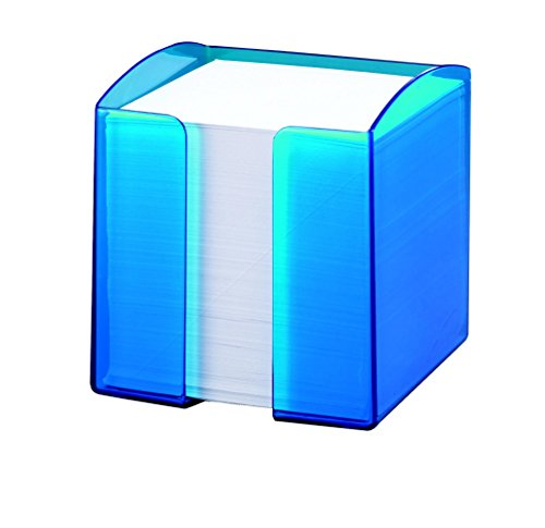 Durable 1701682540 Zettelkasten Trend, transluzent blau